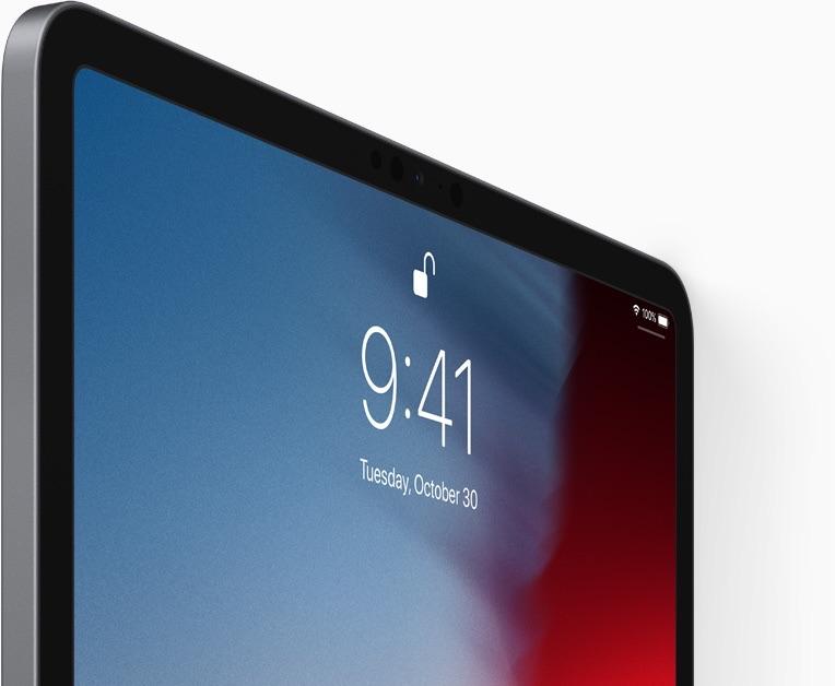 iPad Pro 2018 scherm.