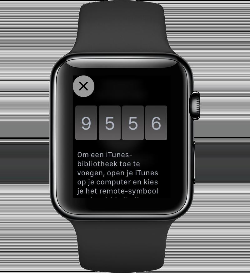 Apple Watch iTunes bedienen