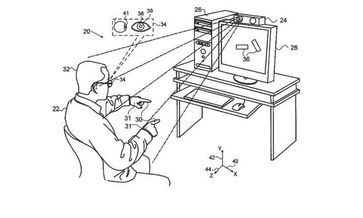 Apple patent oog- en handtracking