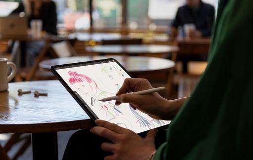 iPad Pro 2018 creatief