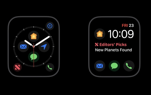 Apple Watch Infograaf complicaties