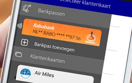 Rabo Wallet-app