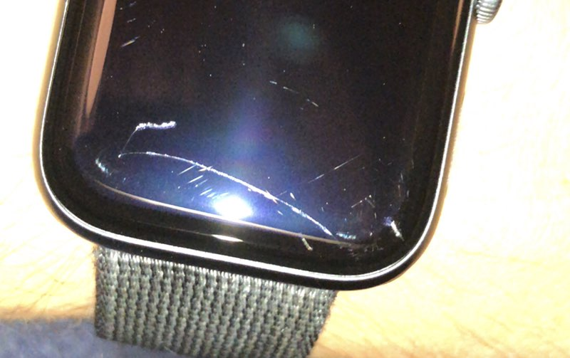 Krassen op Apple Watch Series 4