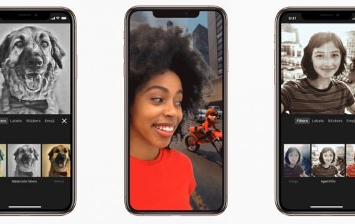 Clips-app met Selfie Scenes van Incredibles en meer.
