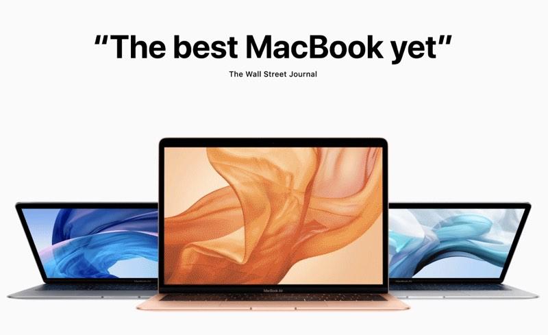 MacBook Air reviews