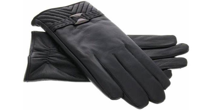Leren touchscreen handschoenen merkloos