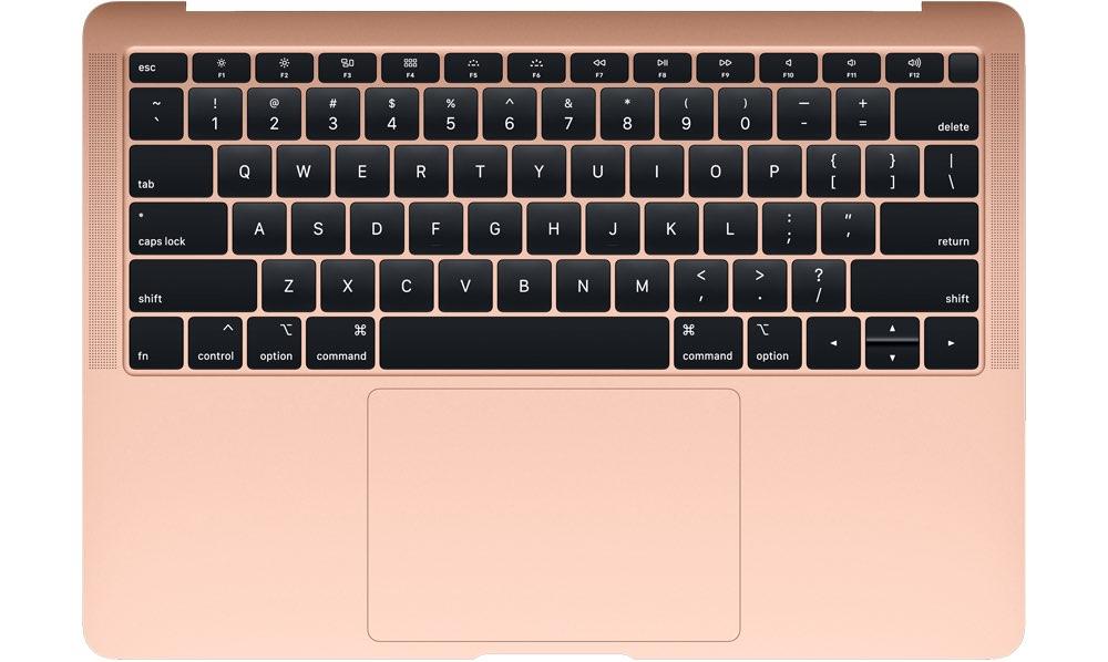 MacBook Air 2018 toetsenbord