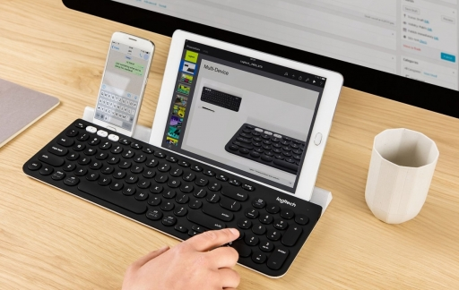 Logitech K780 toetsenbord.
