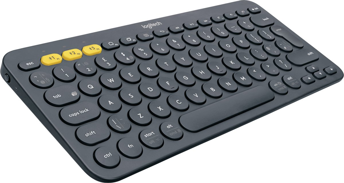 Logitech K380 toetsenbord.