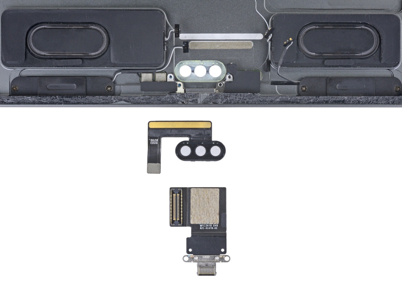 iPad Pro 2018 teardown van iFixit met USB-C.