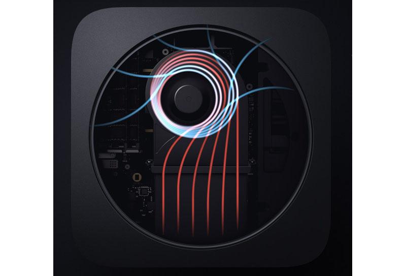 Koeling Mac mini 2018
