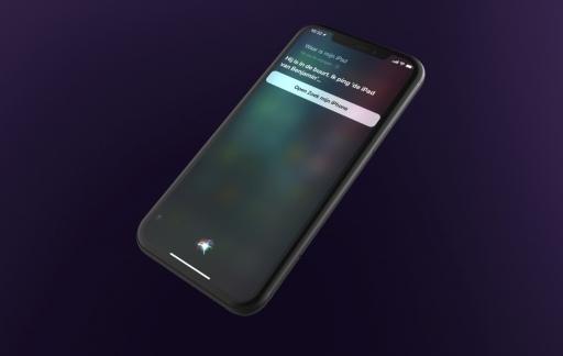 Zoek iPhone met Siri.