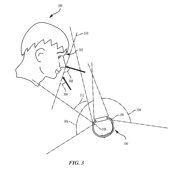 Patent Apple Watch met camera.