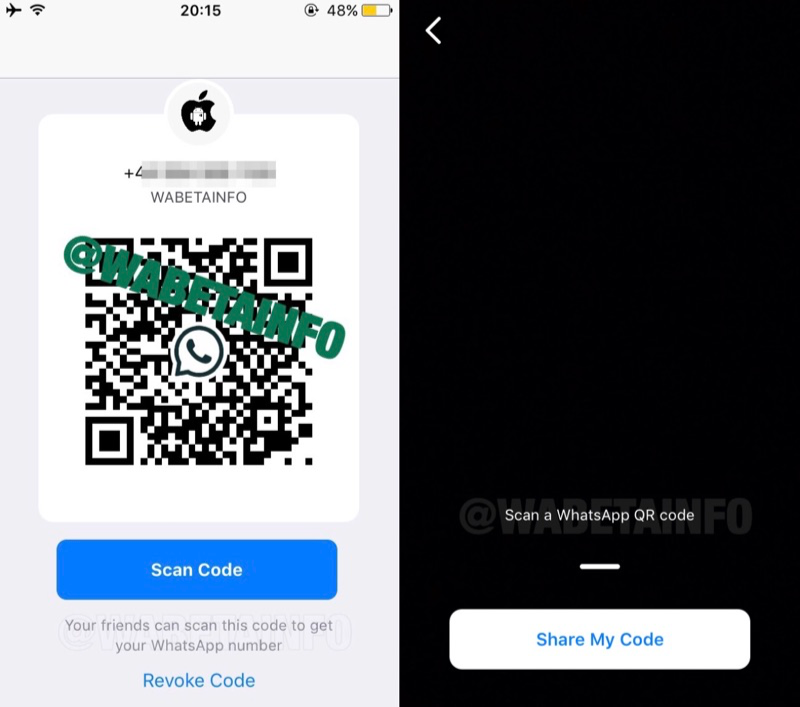 WhatsApp QR-codes in de beta.