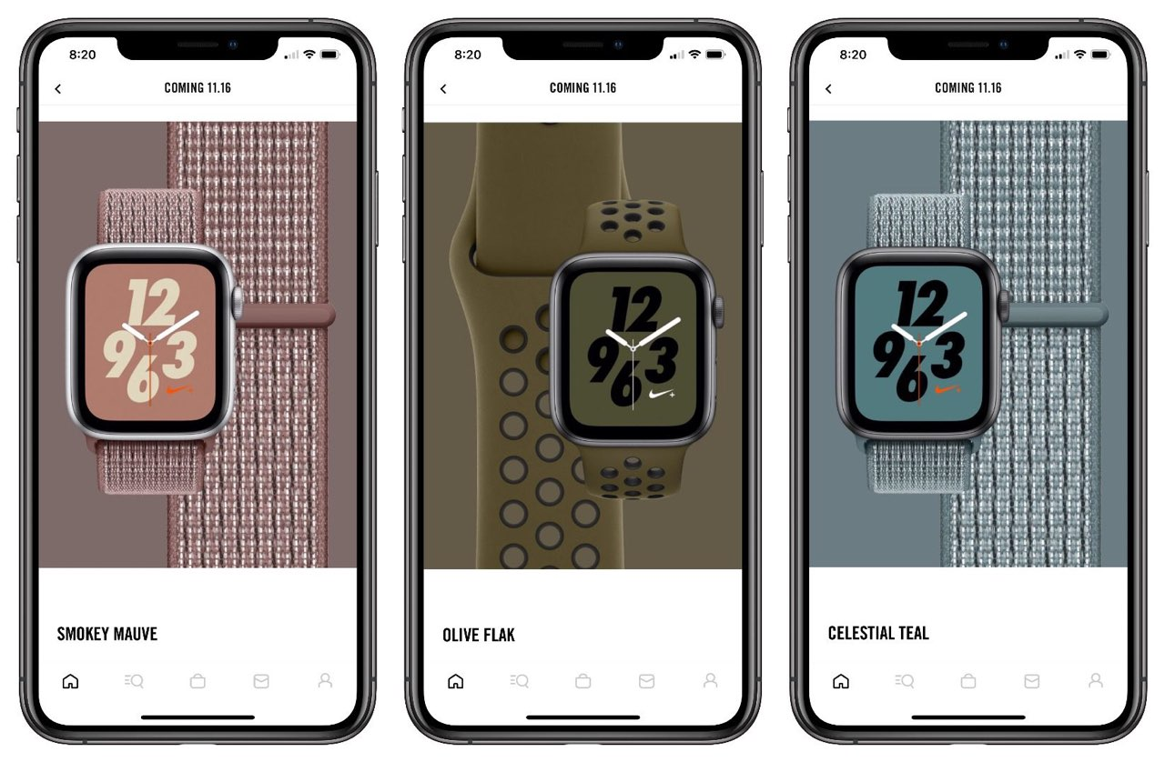 Apple Watch Nike-bandjes winter 2018