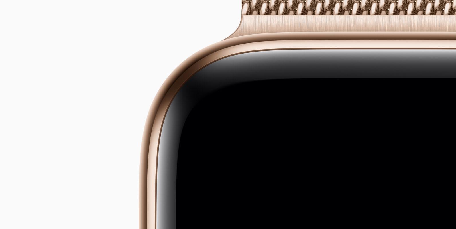 Apple Watch goud Series 4
