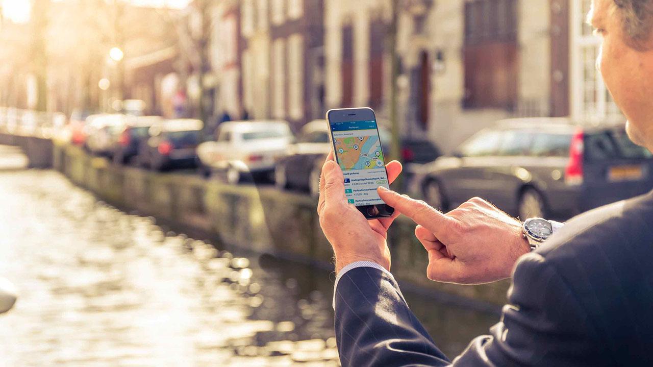 ANWB Onderweg app: makkelijk parkeren