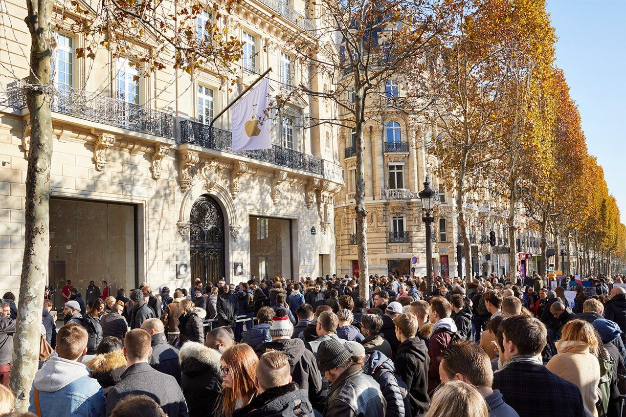 Apple Champs Elysees