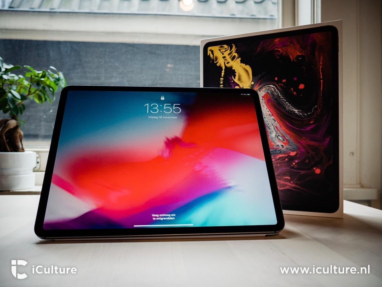 iPad Pro 2018 review met verpakking.