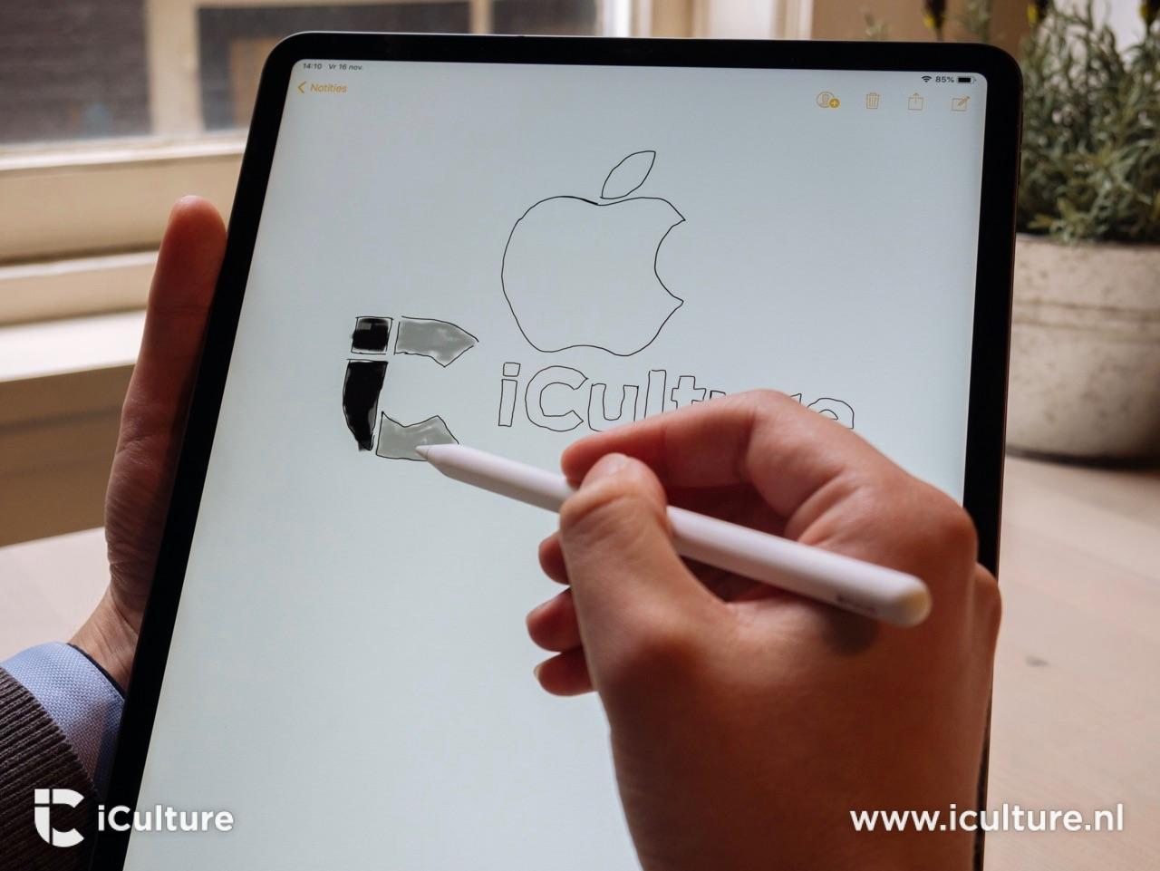 iPad Pro 2018 review met Apple Pencil.