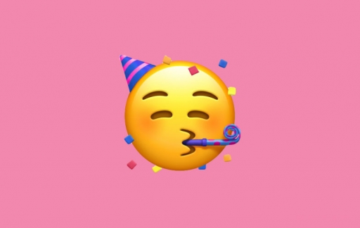 Emoji feest 10 jaar op iPhone