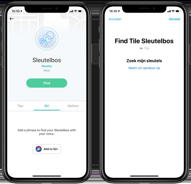 Siri Shortcuts maken vanuit een app.