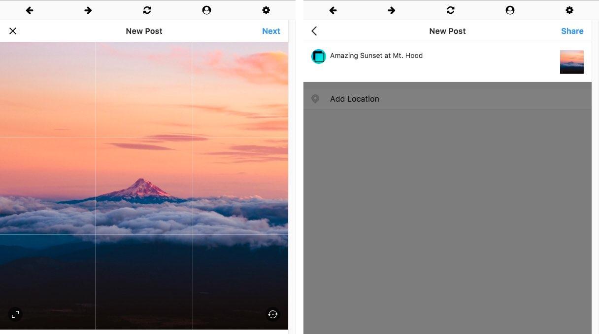 Windowed for Mac Instagram-app