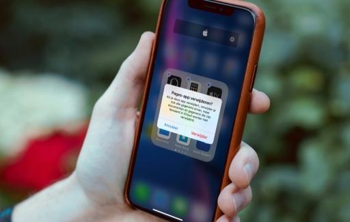 iCloud appgegevens wissen op de iPhone.