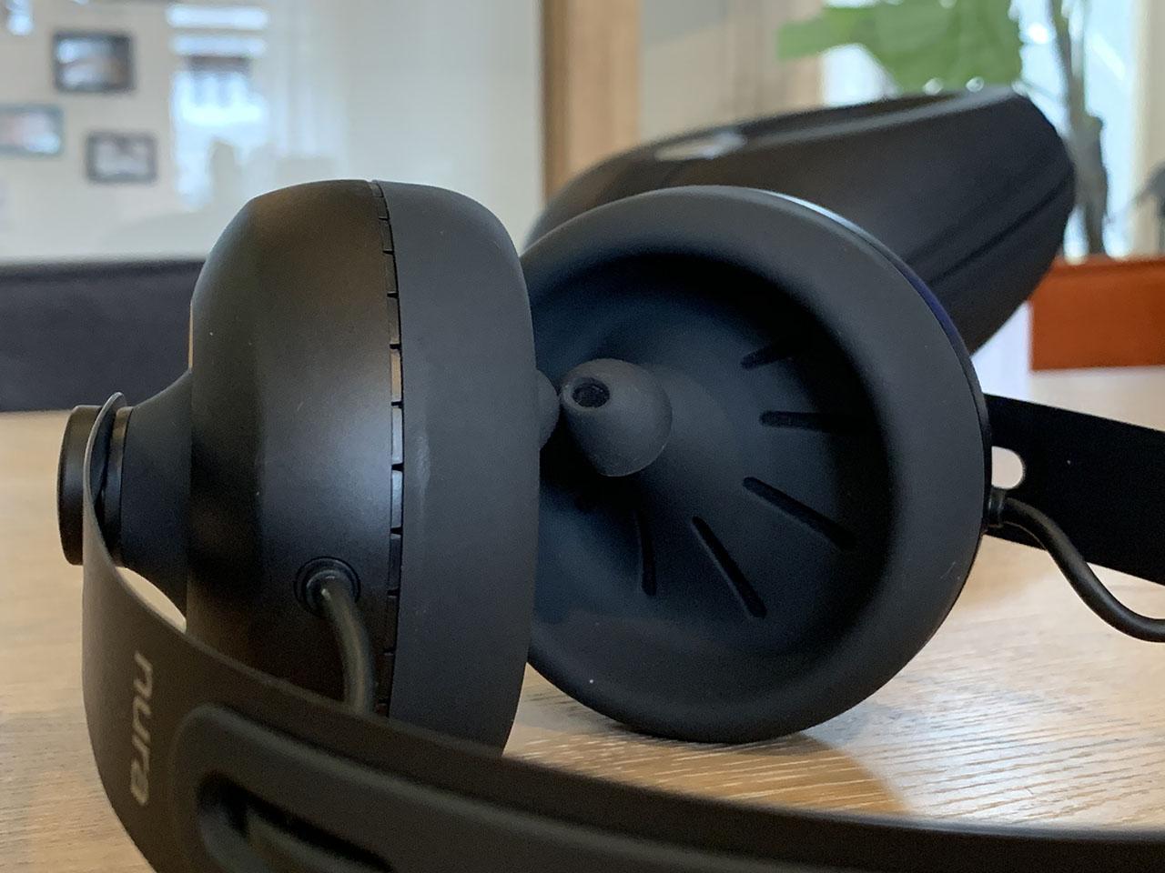 Nuraphones binnenkant