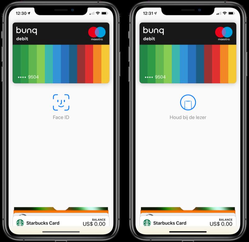 Apple Pay gebruiken op de iPhone.