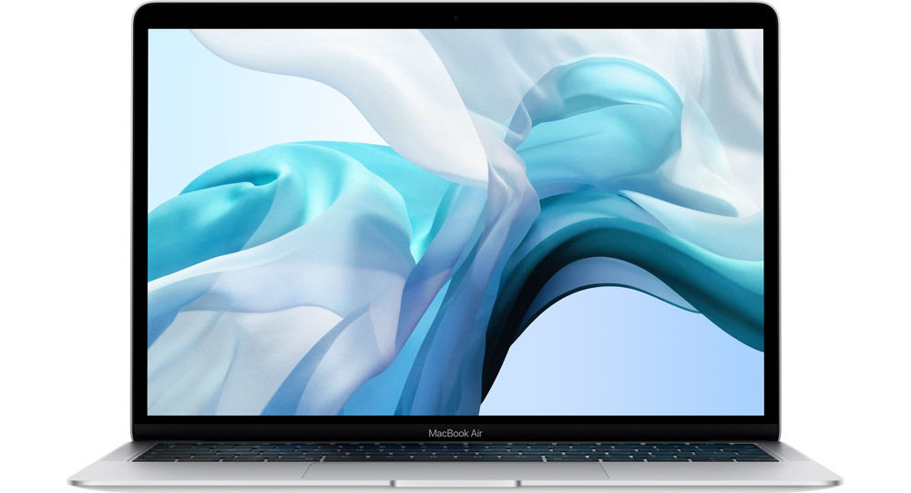 MacBook Air 2018 opengeklapt