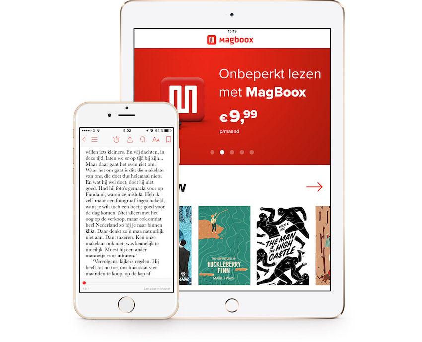 MagBoox op iPad