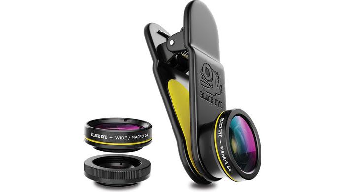 Black Eye iPhone-lens