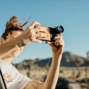 Externe lens voor iPhone