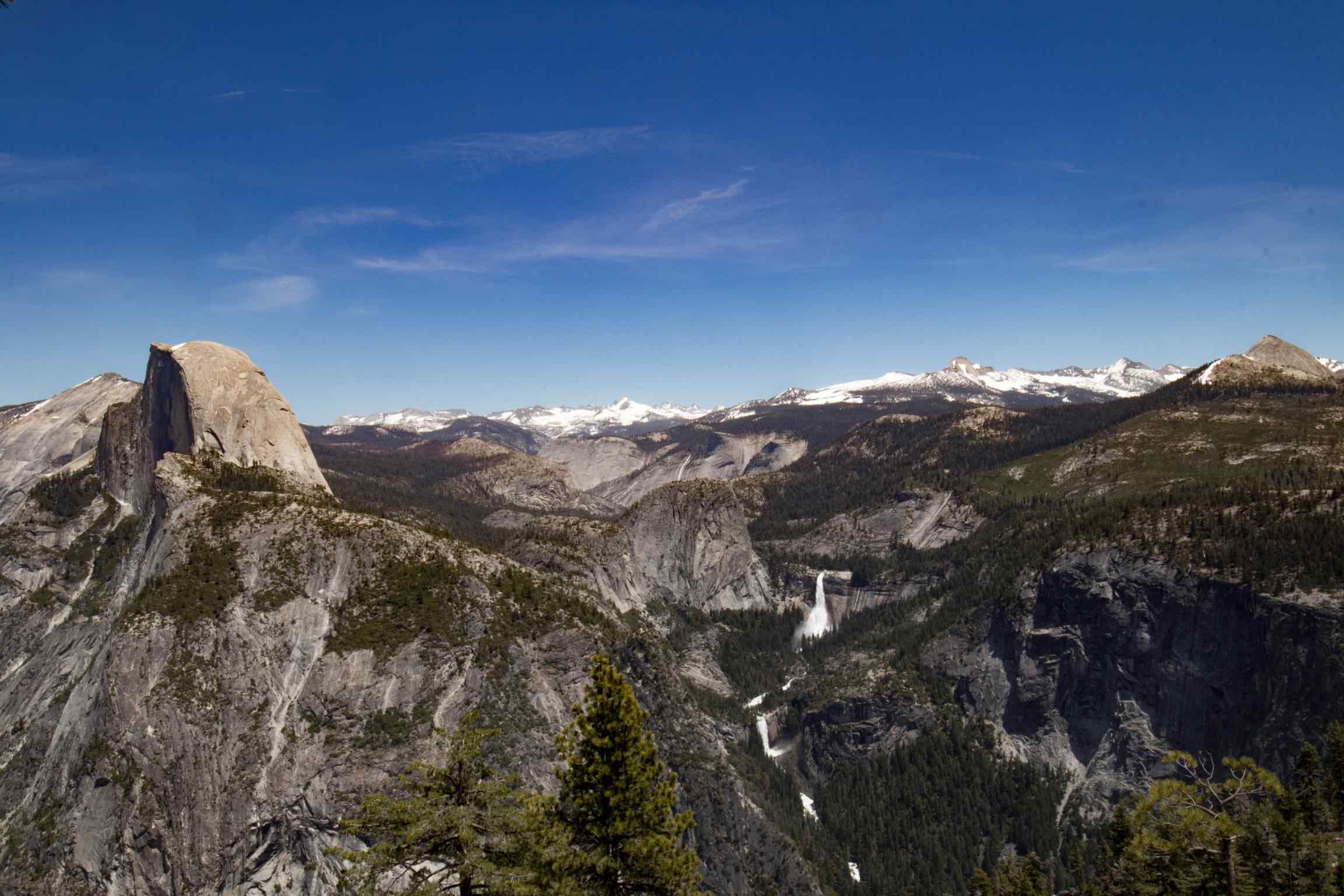 Groothoekfoto Yosemite