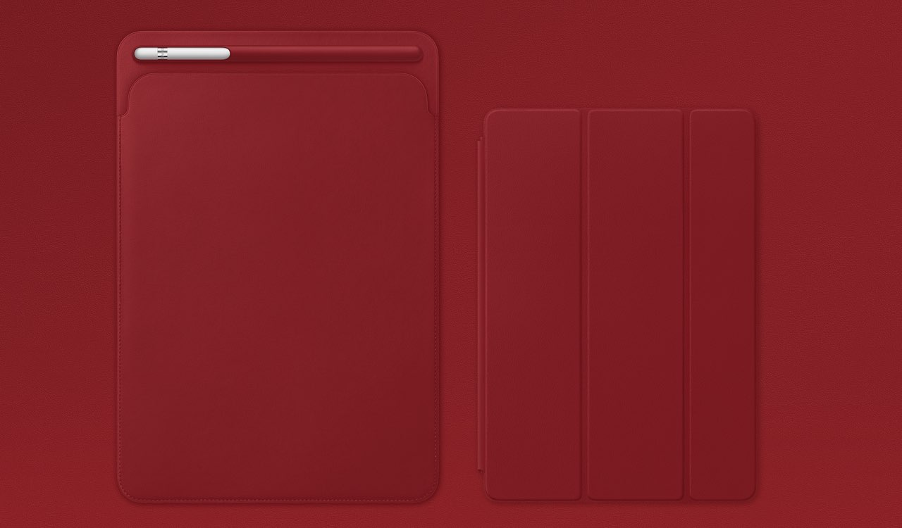 (PRODUCT)RED iPad-accessoires