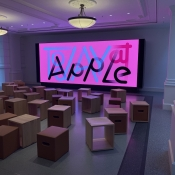 Today at Apple videowall