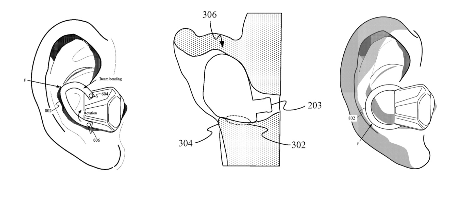 Verwisselbare AirPods in patent.