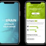 Hi.Brain op iPhone