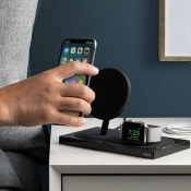 Belkin Boost Up dock voor iPhone en Apple Watch.