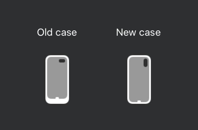 Icoontje van nieuwe Smart Battery Case.