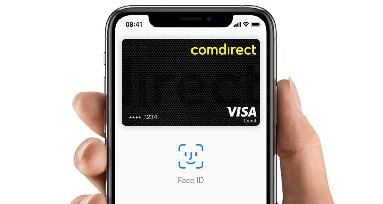 Apple Pay Duitsland bij comdirect