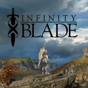 Infinity Blade met logo.