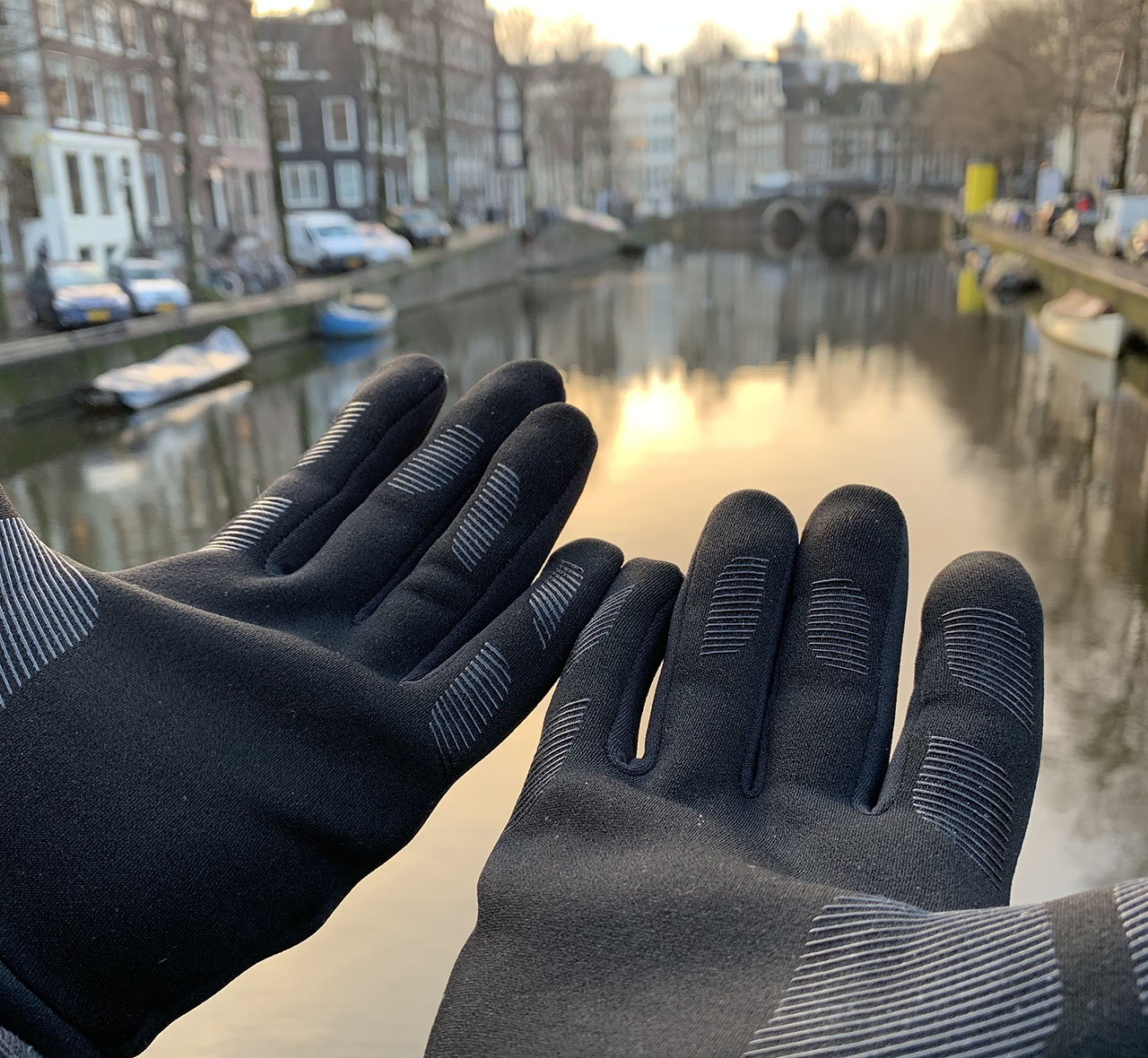 Mujjo Touchscreen Gloves: binnenkant met antislip