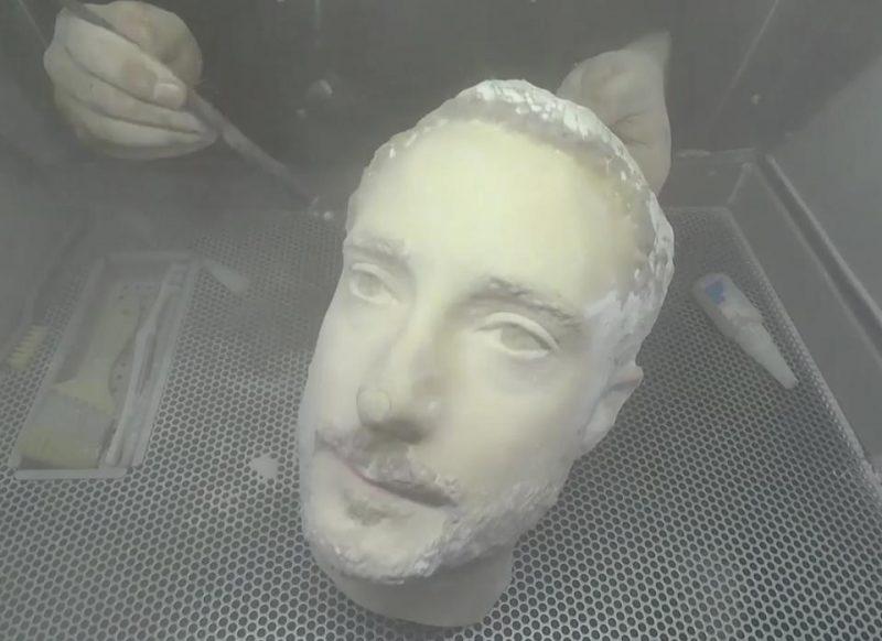 3D hoofd gezichtsherkenning