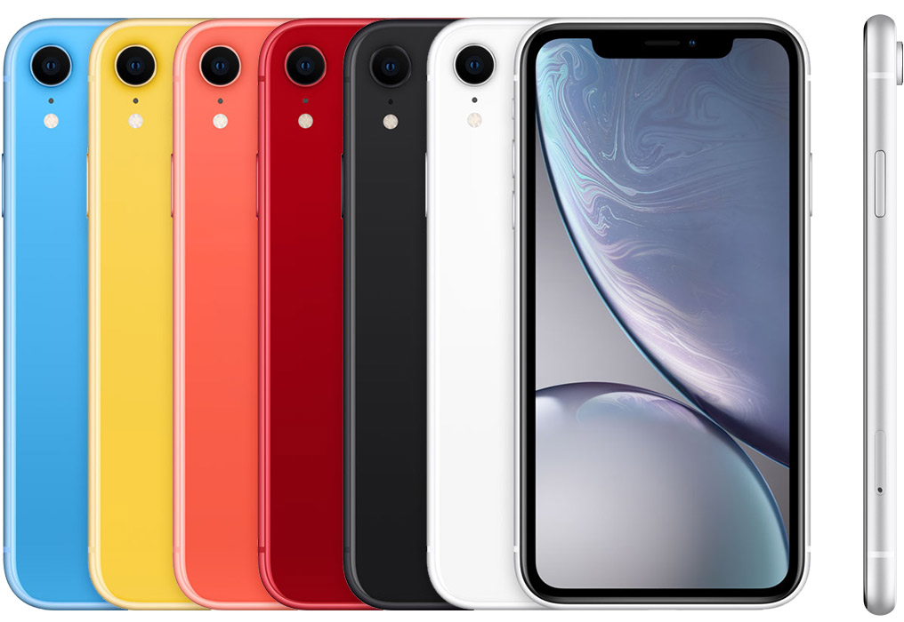 iPhone XR kleuren.