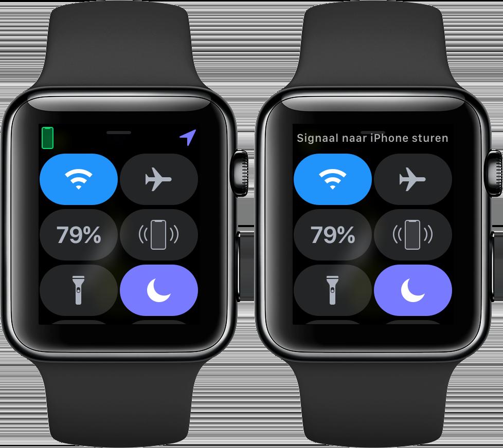 iPhone zoeken via Apple Watch