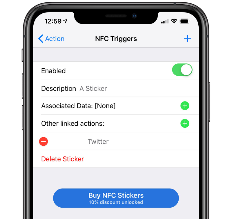 Launch Center Pro NFC Triggers