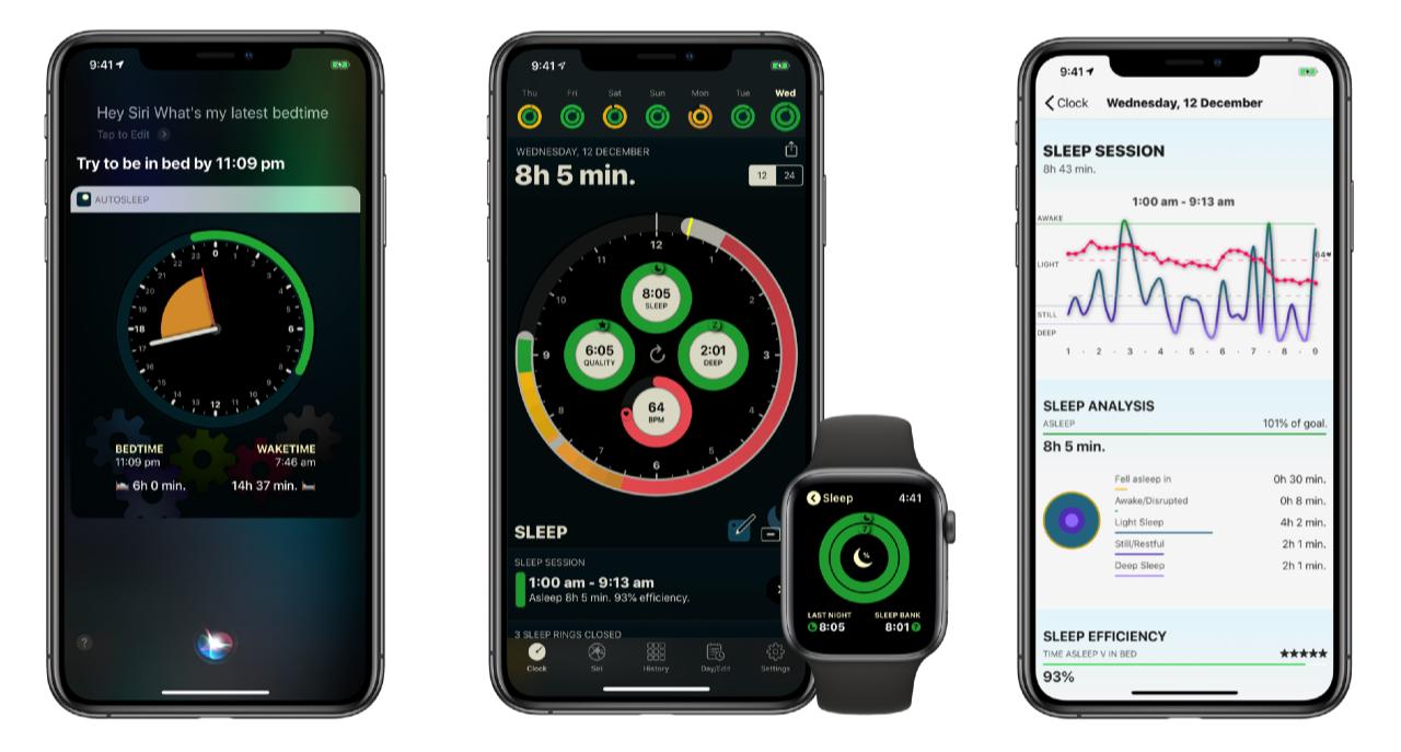 AutoSleep 6 met nieuw design en Siri.