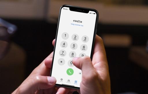 Telefooncodes op de iPhone.